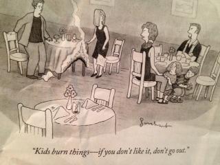 kids burn things