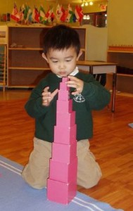 montessori pink tower - Google Search