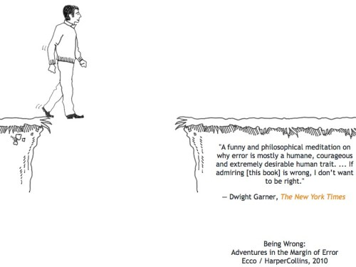Being Wrong: Adventures in the Margin of Error.